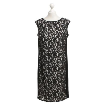Ralph Lauren Kleid in Schwarz mit Spitze