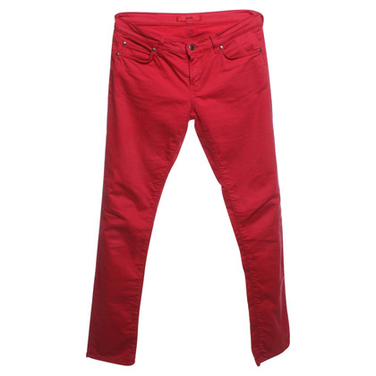 Hugo Boss Pantaloni a Red