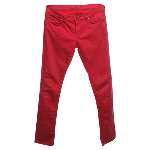 57a4efbc6b Hugo Boss trousers in red - Second Hand Hugo Boss trousers in red ...
