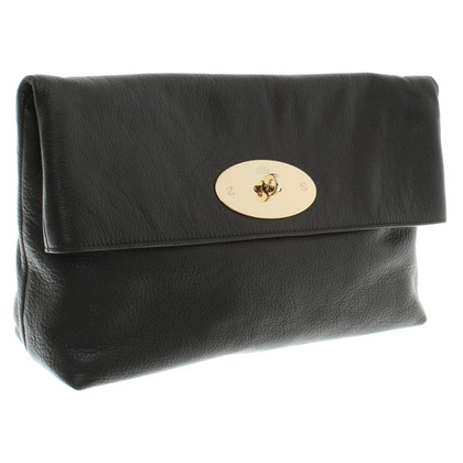 Mulberry clutch in zwart