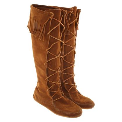 Minnetonka Suede boots