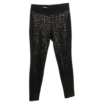 Boss Orange Pantaloni con finiture in paillettes