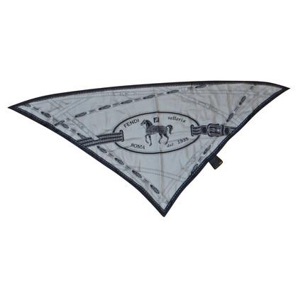 Fendi Zijden sjaal met print