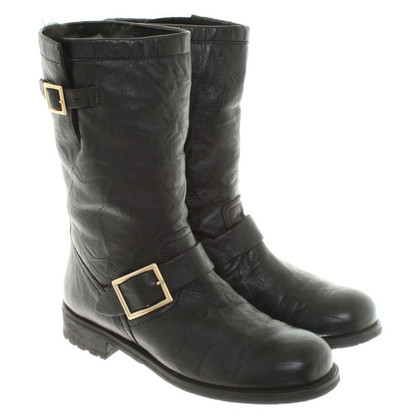 Jimmy Choo Ankle boots in biker style