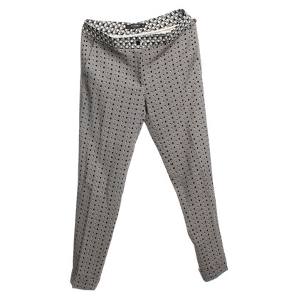Etro Wrap-around trousers in Bicolor