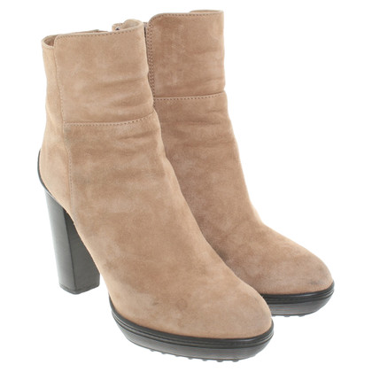Tod's Ankle boots in beige
