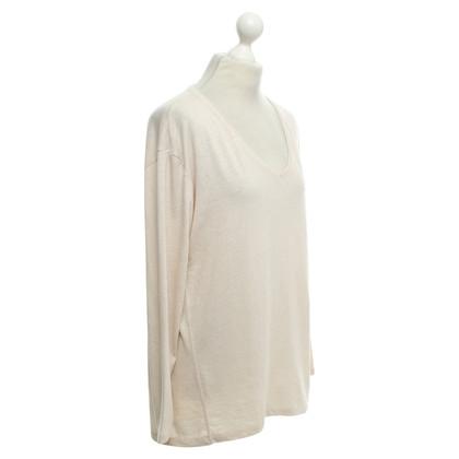 Closed Lang shirt in licht beige