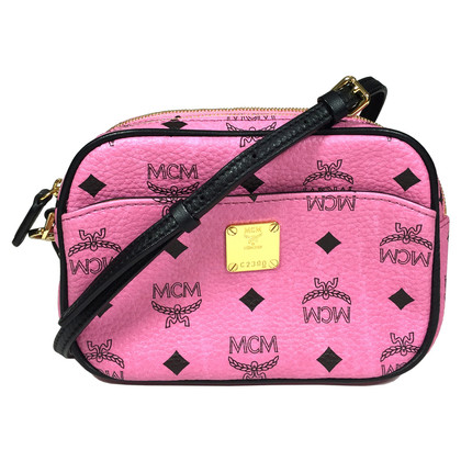 MCM Crossbody Bag in Pink