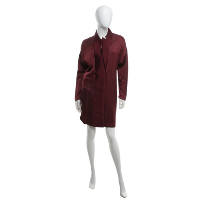 Stella McCartney Coat dress in claret