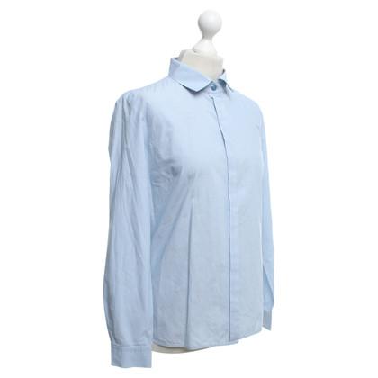 Max Mara Blouse in blue / white