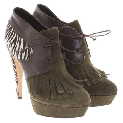 Alberta Ferretti Ankle boots made of leather mix