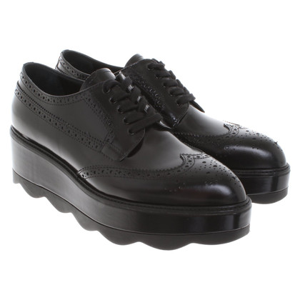 Prada Lace-up shoes with platform sole