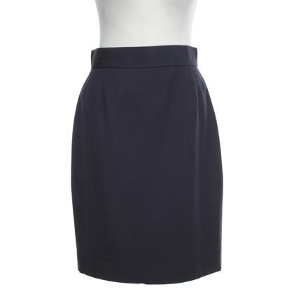 Moschino skirt in dark blue