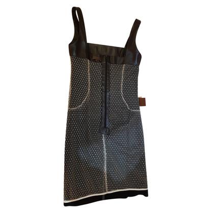 Loewe Leren mouwloze jurk