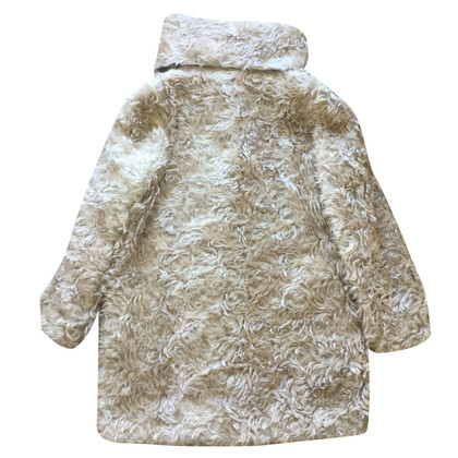 Prada Cappotto di pelliccia ecologica