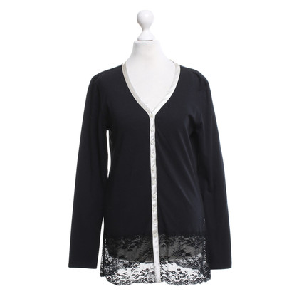 Armani Lange Top in zwart