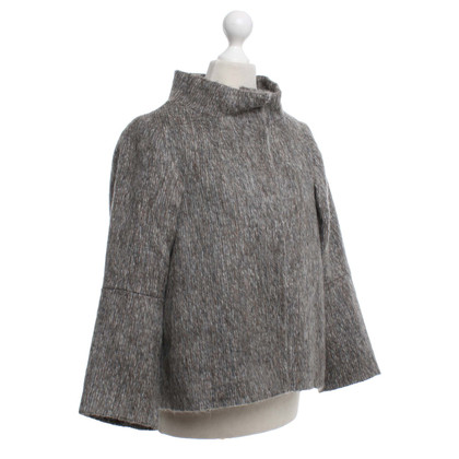 Schumacher Short jacket in mottled grey