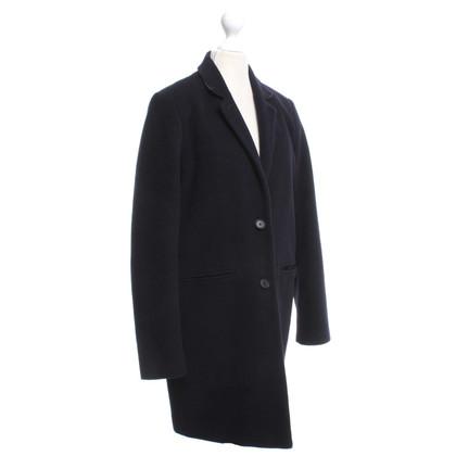 Set Coat in navy blue
