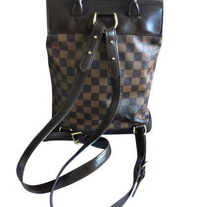Louis Vuitton Soho backpack from Damier Ebene Canvas