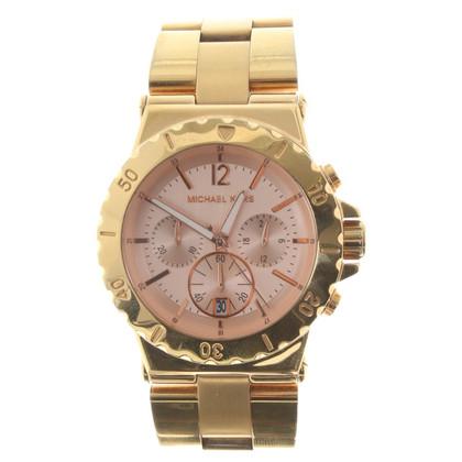Michael Kors Goldfarbene Uhr