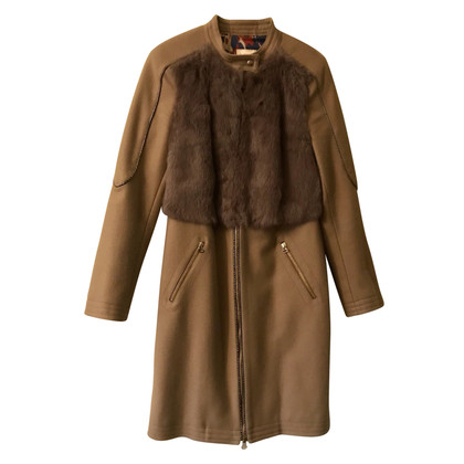 Matthew Williamson Coat of wool / fur