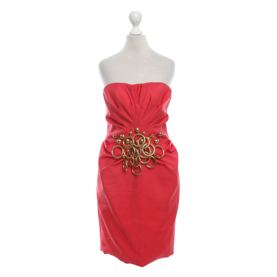 Moschino Robe en rouge
