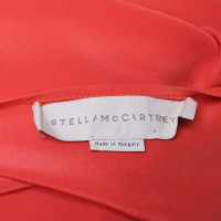 Stella McCartney Seidenkleid in Orange