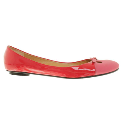 Marc Jacobs Ballerinas in Korallrot