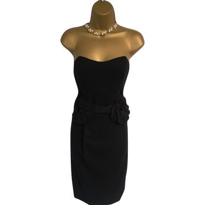 By Malene Birger Black Cabrera Strapless Dress