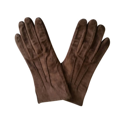 Stefanel Suede Gloves