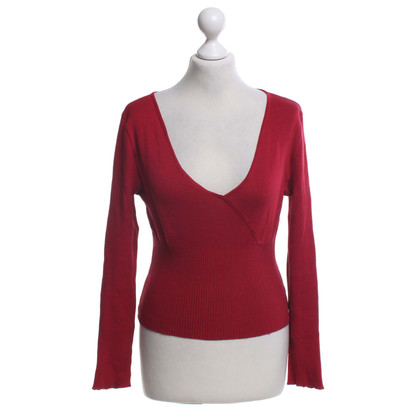 Yves Saint Laurent Pull en rouge