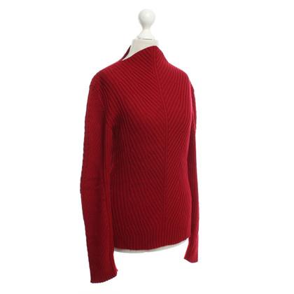 Mugler maglione rosso