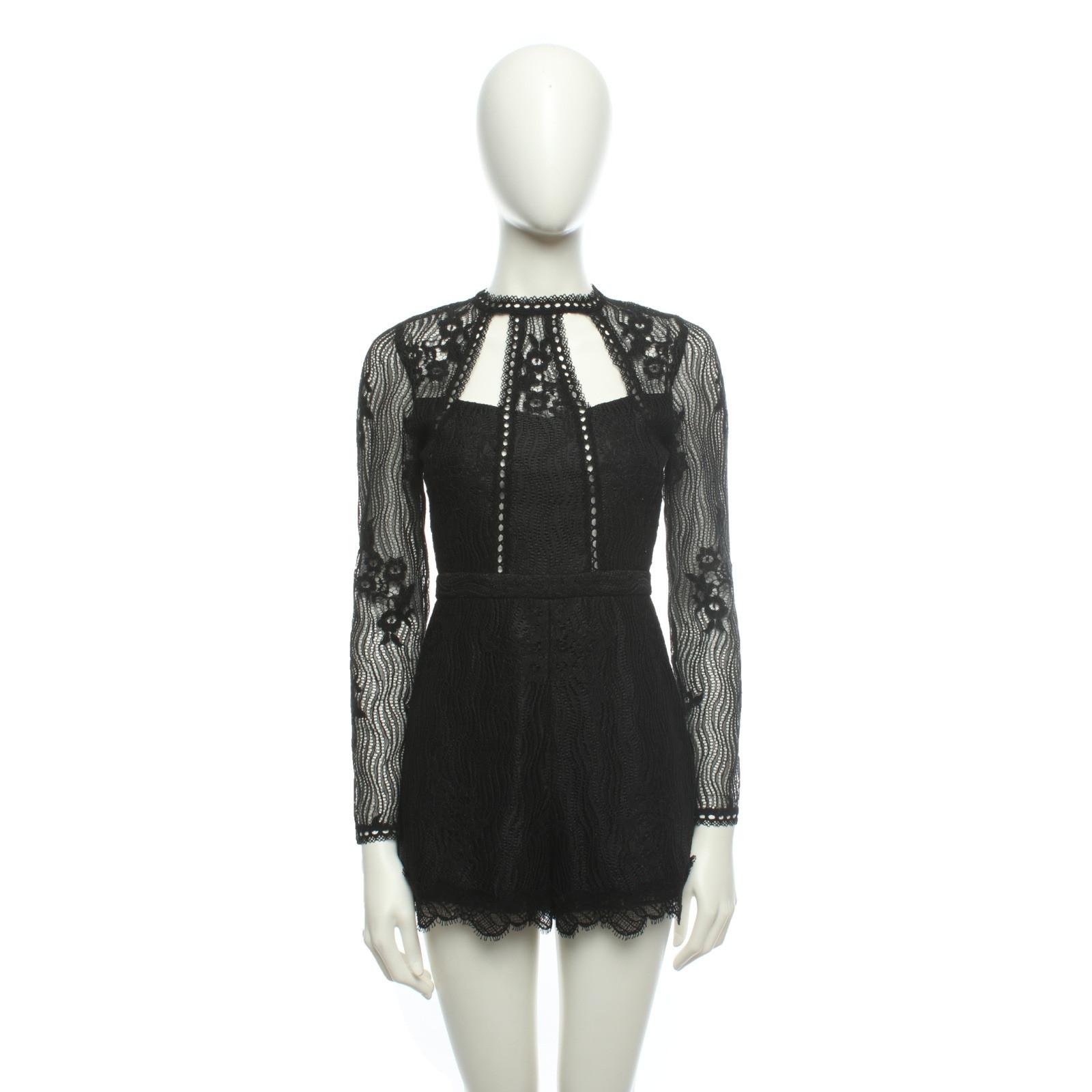 alexis jumpsuit in schwarz - second hand alexis jumpsuit in