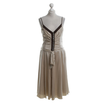 Karen Millen Silk dress in beige
