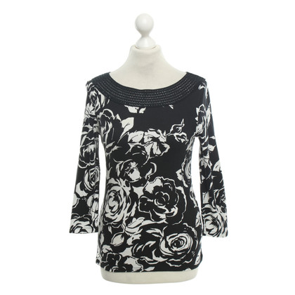 Ralph Lauren Cotton top in black and white