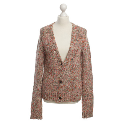 Maison Scotch Cardigan met Lurexfäden
