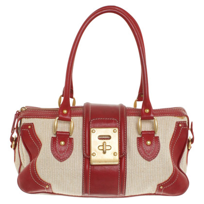 Valentino Handbag in red / beige