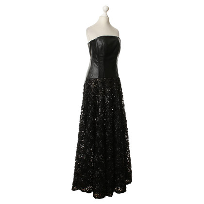 Guido Maria Kretschmer Long evening dress in black