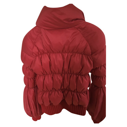 Roberto Cavalli Down jacket in red