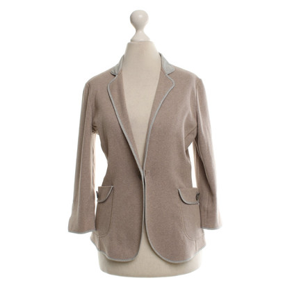 Brunello Cucinelli Knitted blazer in beige