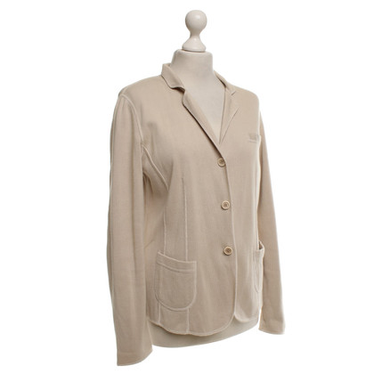 Brunello Cucinelli Knit Blazer In Beige