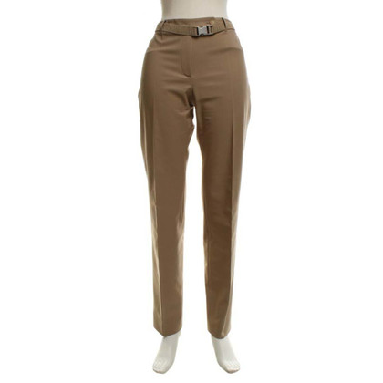 Prada trousers in beige