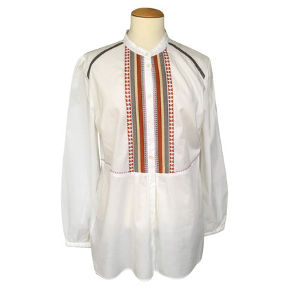 Bogner Long blouse with embroidery