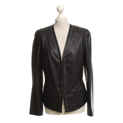 Basler Leather jacket in black