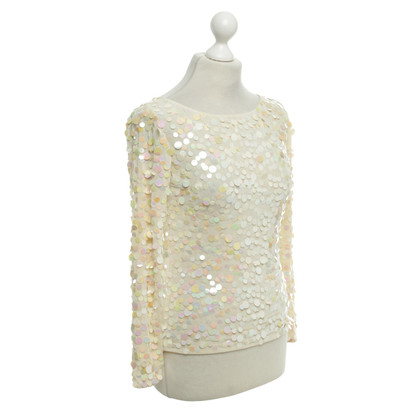 Valentino top with sequins