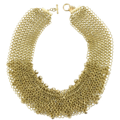 Céline Gold colored pearl necklace