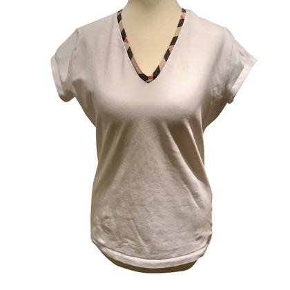 Burberry T-shirt in white