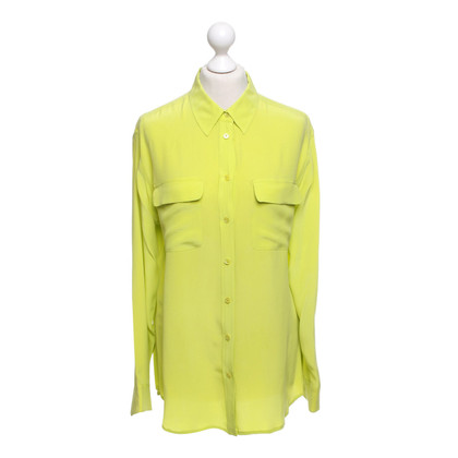 Equipment Neon colored shirt blouse