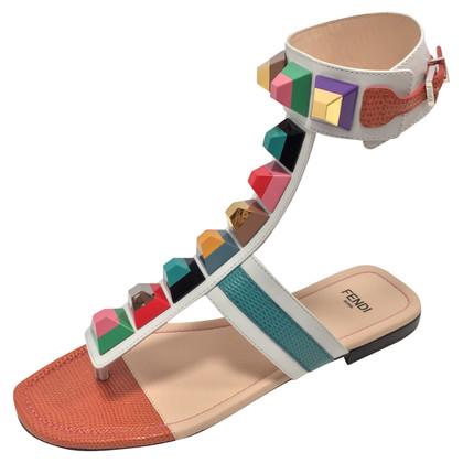 Fendi sandales arc-en-