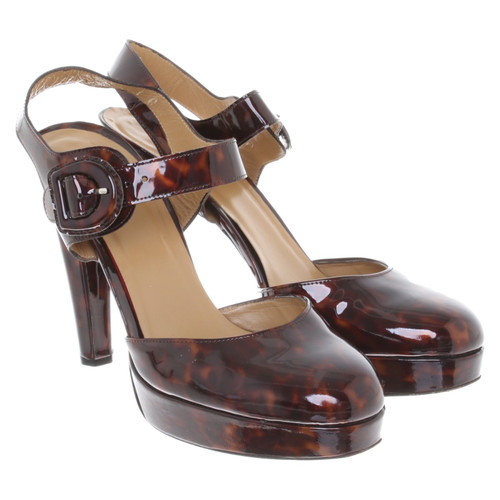 1419a2e63c86 Stuart Weitzman Sandals with tortoiseshell pattern - Second Hand ...